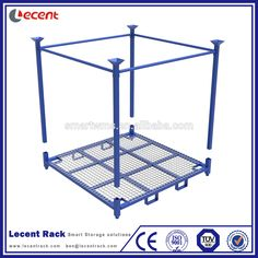 Tyre Industrial Transport Logistic Collapsible Stackable Truck Tire Stillage With Wire Mesh