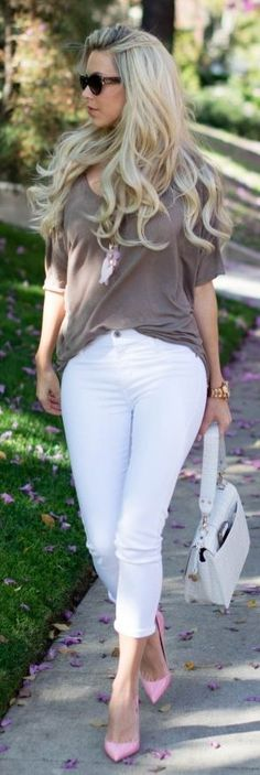 Simple And Casual Spring Inspiration Outfit