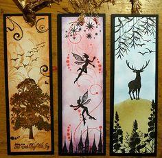Handmade bookmarks.
