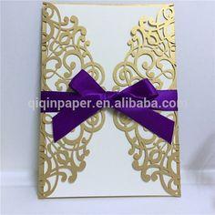 Source korea design luxury laser cut invitation wedding card on m.alibaba.com