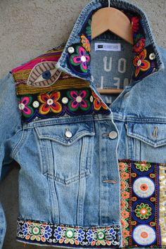 Levis Denim, Levi Denim Jacket, Denim Jackets, Denim Jacket With Patches, Men's Jeans, Vintage Levis Jacket, Denim Vintage, Denim Ideas, Look Boho