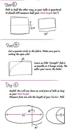 DIY Fingertip Veil with Blusher with Step By Step info! | Weddingbee DIY Projects