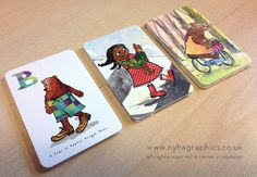 nice idea for illustrated business cards