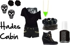 """Hades Cabin"" by shadowphoenix on Polyvore"