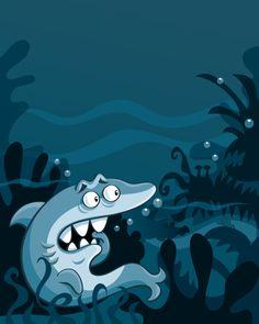 """'Seymour the Scaredy Shark"" by Jackie Stafford"