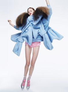 Next Best Things - V Magazine Fall 2015 Model: Lindsey Wixson Photographer: Anthony Maule