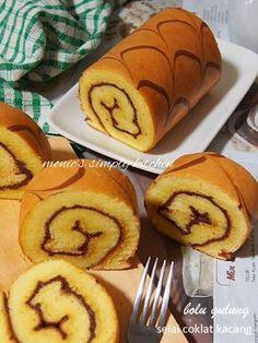 Obtain Chinese Food Dessert Recipe Cake Receipe, Cake Roll Recipes, Pastry Recipes, Dessert Recipes, Bolu Cake, Pandan Cake, Resep Cake, Oreo Pudding, Almond Cookies