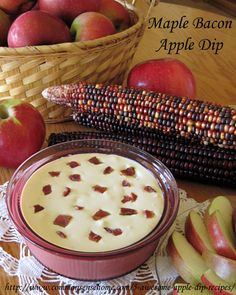 5 Awesome Apple Dip Recipes - Savory and Sweet