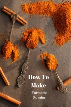 DIY Turmeric Powder - How to Make Turmeric Powder at home in 4 easy steps | whitbitskitchen.com