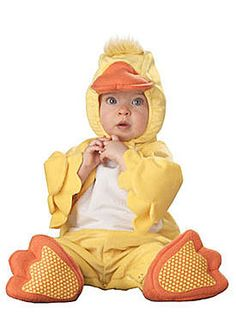 Love this adorable baby ducky costume! Too cute!