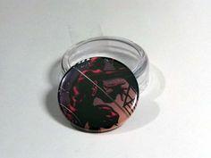"""Comic Book 1.5"""" Button// Daredevil, $1.00"""