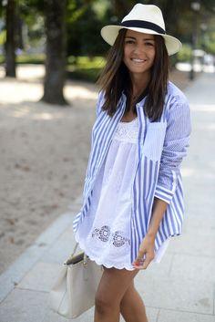 Stripes Over White | Lovely Pepa by Alexandra