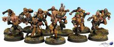 Bretonnian Blood Bowl Team