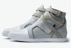 Adidas SLVR Hightops.