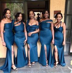 African Bridesmaid Dresses, Cheap Bridesmaid Dresses Online, Mermaid Bridesmaid Dresses, Bridesmaid Dress Styles, Wedding Dresses, Dresses Dresses, Black Bridesmaids Hairstyles, Modest Wedding, Mermaid Dresses
