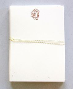Anatomical Heart, Petit-Pressed Cards