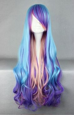 Pretty pastel wig - my little pony