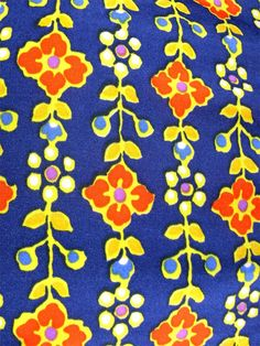 Image result for 70s flower print