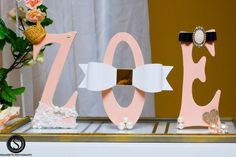 Glam Baby Zoe Christine! Baby Shower Party Ideas | Photo 2 of 37 | Catch My Party