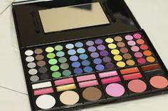 60 eye makeup 12 lipstick and 6 brushers Makeup Kit, Eye Makeup, Eyeshadow, Make Up, Lipstick, Beauty, Makeup Eyes, Eye Shadow, Lipsticks
