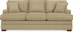 Love this sofa...thinking about buying the sofa and love seat in a Buckweat color. The fabric is a very plush corduroy :-)