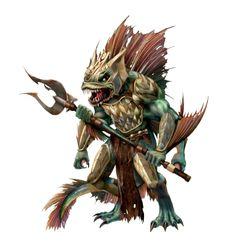 Fantasy Monster, Monster Art, Fantasy Races, Fantasy Art, Eldritch Horror, Medvedeva, Dnd Monsters, Medieval, Underwater Creatures
