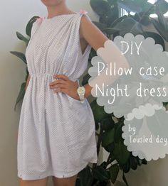Une taie d'oreiller --> une robe (de nuit ?)