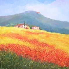 156 fantastiche immagini in Dipinti di paesaggi toscani su Pinterest ...