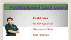 No credit check individual advances, for the most part called advances or payday advances, are ideal for wiping out brief pay issues. Right when crises come around, different individuals experience honest to goodness challenges the money required for these crises. www.PayDaySpeed.com ® Official Website Online Cash Advance Upto $1000 In cases like this, a development…