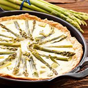Il Bersaglio Marketing:    TORTA SALATA DI  ASPARAGI  INGREDIENTI   Base ... Sauerkraut, Lorraine, Zucchini, Picnic, Vegetarian, Vegetables, Cooking, Breakfast, Desserts