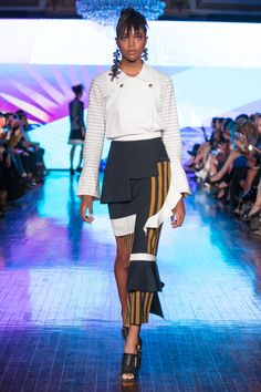Rinda Salmun RTW Spring 2018 Spring Summer 2018, Spring Summer Fashion, Waist Skirt, High Waisted Skirt, Show Reviews, Fashion News, Runway, Skirts, Collection