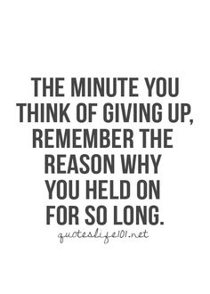 Never give up on your dreams! #words #dreams #inspiration