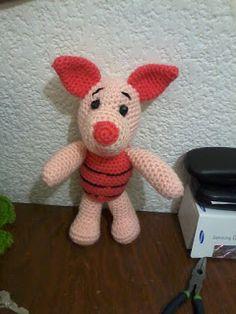 Amigurumi Winnie Pooh Patron Gratis : 1000+ images about Iejoor en andere Winnie de Pooh-figuren ...