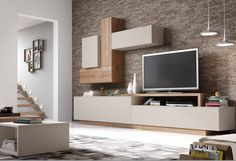 Comedores moderno en Murcia. Comedores moderno en Torre Pacheco. Home Living Room, Modern Dining Room, Tv Wall Design, Living Room Wall Units, Havenly Living Room, Living Room Design Modern, Living Room Tv Wall, Tv Cabinet Design, Living Room Designs