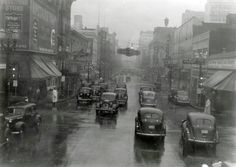 SW 4th Ave. looking north towards Yamhill | Portland, 1939