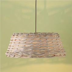 Woven Basket Pendant - Shades of Light Attic Inspiration, Harvest Basket, Cottage Lighting, Kitchen Redo, Kitchen Ideas, Kitchen Design, Market Baskets, Coastal Cottage, Light Shades