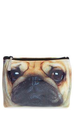 997c6aac9504 Free shipping and returns on Catseye London 'Pug' Large Cosmetics ...