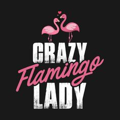 Check out this awesome 'Cute+Crazy+Flamingo+Lady%2C+Women+Loves+Flamingo' design on @TeePublic!