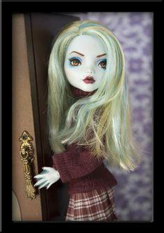 Mina OOAK Custom Monster High Lagoona Dressed Repaint Ivyheart | eBay