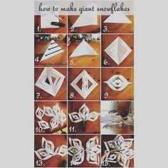 How to make a paper snowfkake Christmas Eve, Christmas Gifts, Advent Calendar, Magic, Holiday Decor, Paper, Cards, Xmas Gifts, Christmas Presents