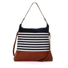 Hit the boardwalk in chic, Nautica style with this beautiful tote, dressed in our signature stripes and ready to carry all of your everyday essentials in classic style.