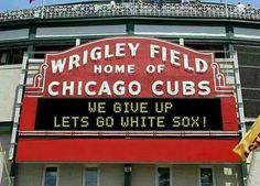 I'm a Cubs fan and I think it's funny:)