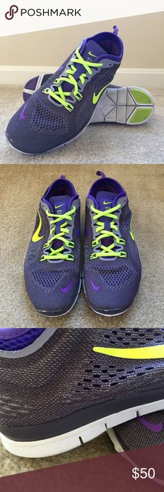 Nike Free 5.0 Nike Free TR Fit 4 • Colors: Dark Raisin / Hyper Grape / Purple Steel / Volt • Trainers • True to size • Regular width • Laces included Nike Shoes Athletic Shoes