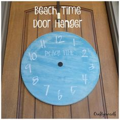 """Beach Time"" Door ha"