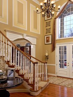 2 story entryway decorating ideas - Google Search
