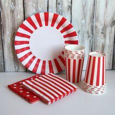 Tableware Set - Red