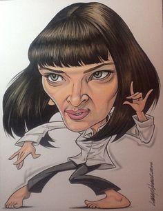 Umma Thurman...Pulp Fiction