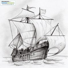 sailboat tattoo - Google Search