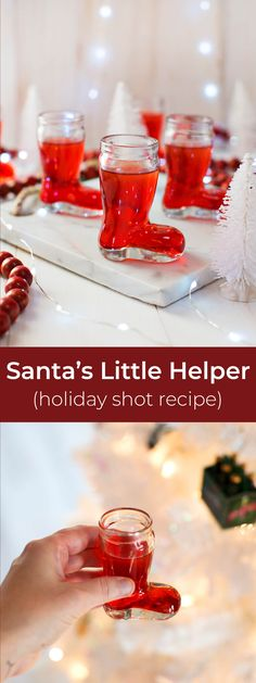 Holiday shots recipe!