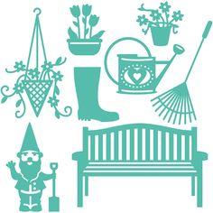 First Edition Garden Theme Dies 8 Pieces | Hobbycraft
